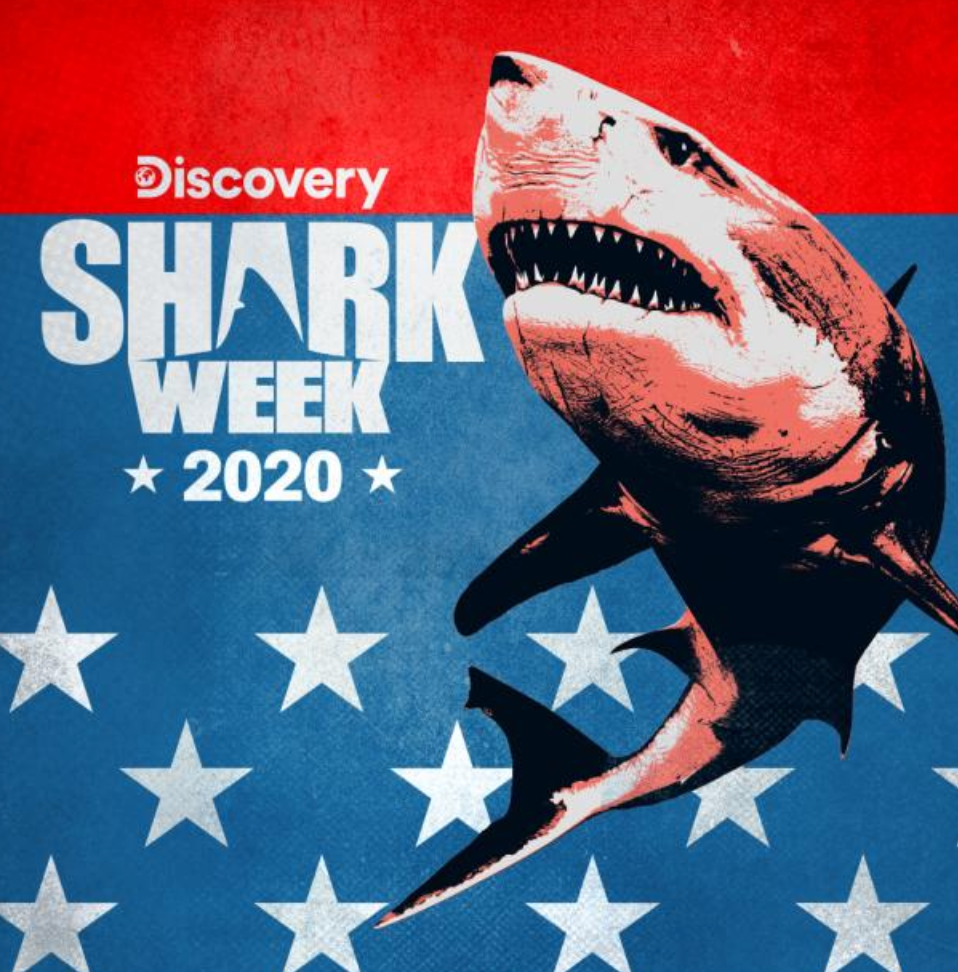 Discovery Shark Week 2020 Graphic