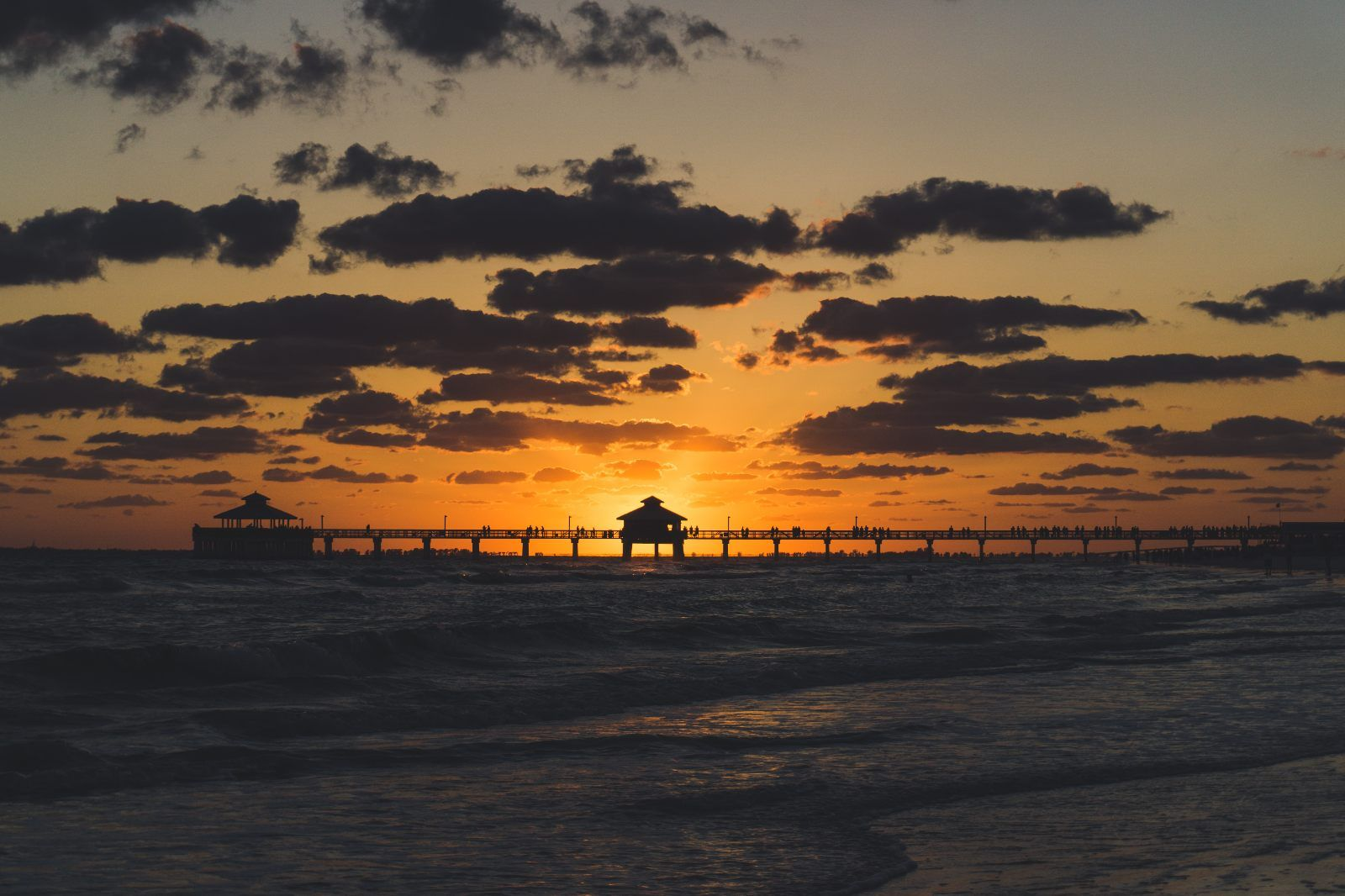 Fort Myers Florida Pier Sunset