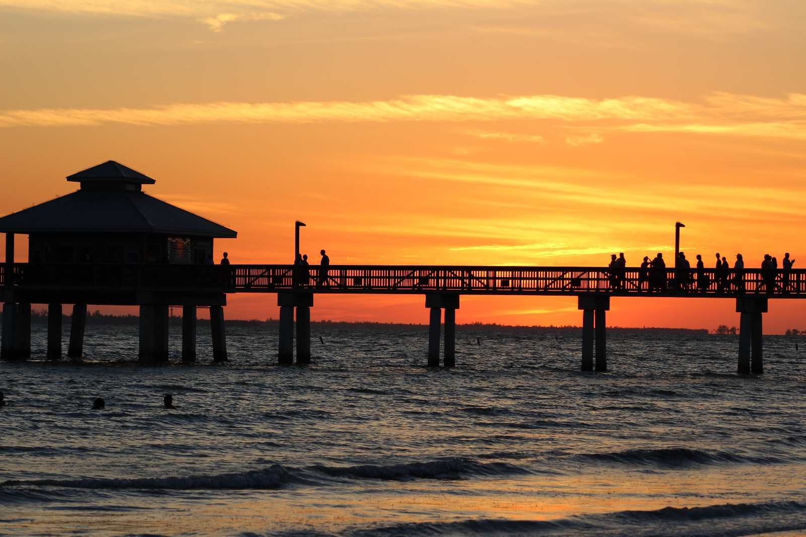 Fort Myers Sunset at the Pier