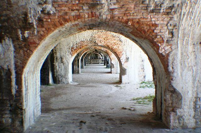 Archways at Fort Pickens, Pensacola, FL