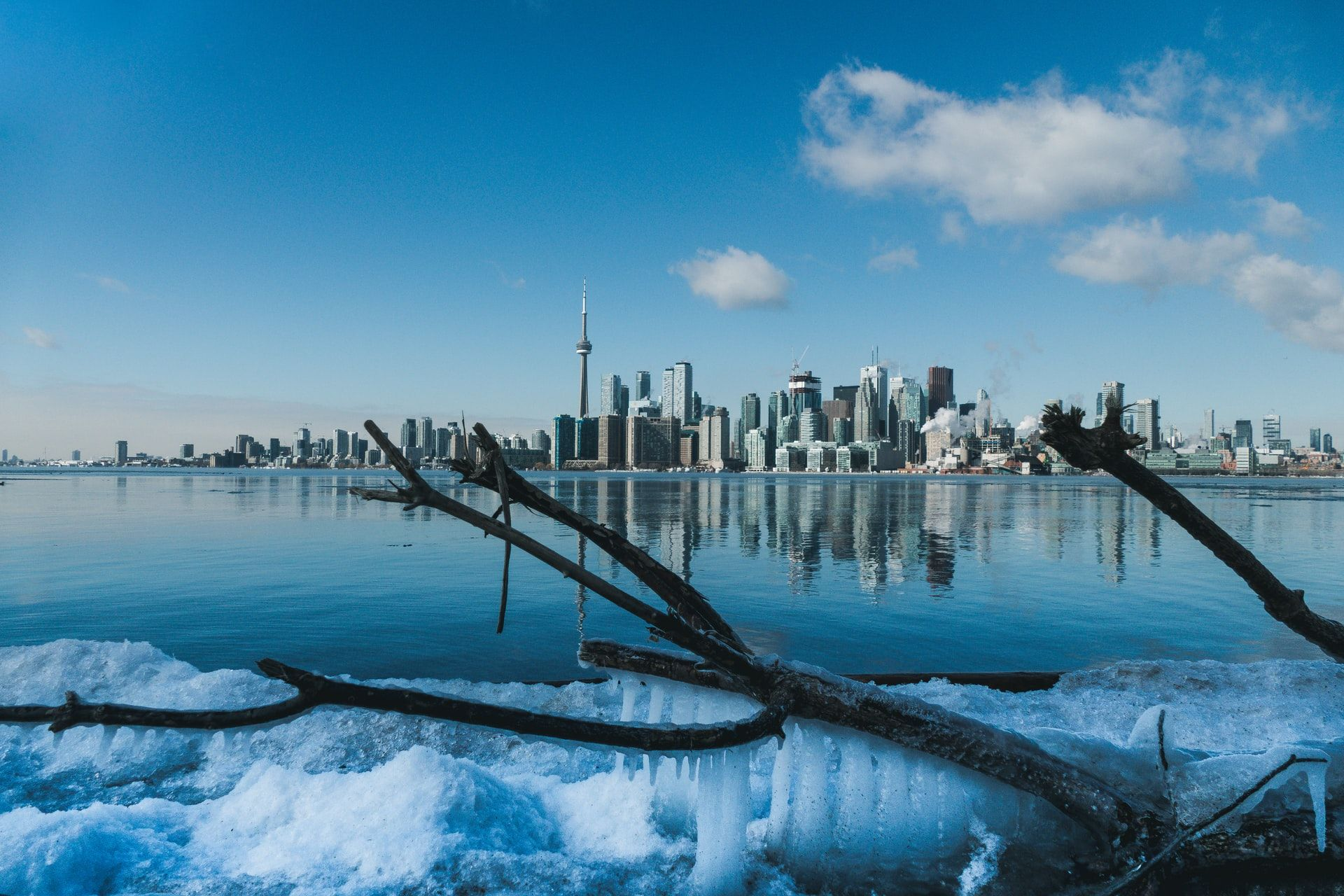 Lake Ontario during Winter