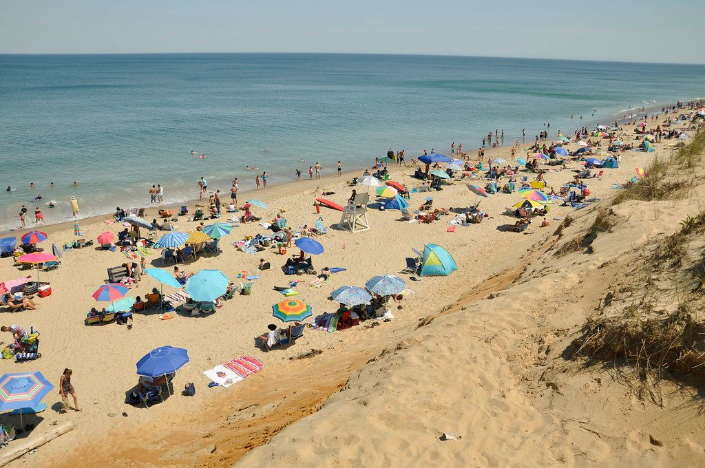 """""""Marconi Beach, Wellfleet MA, Cape Cod, Credit: William DeSousa-Mauk"""" by Massachusetts Office of Travel & Tourism is licensed under CC BY-ND 2.0"""