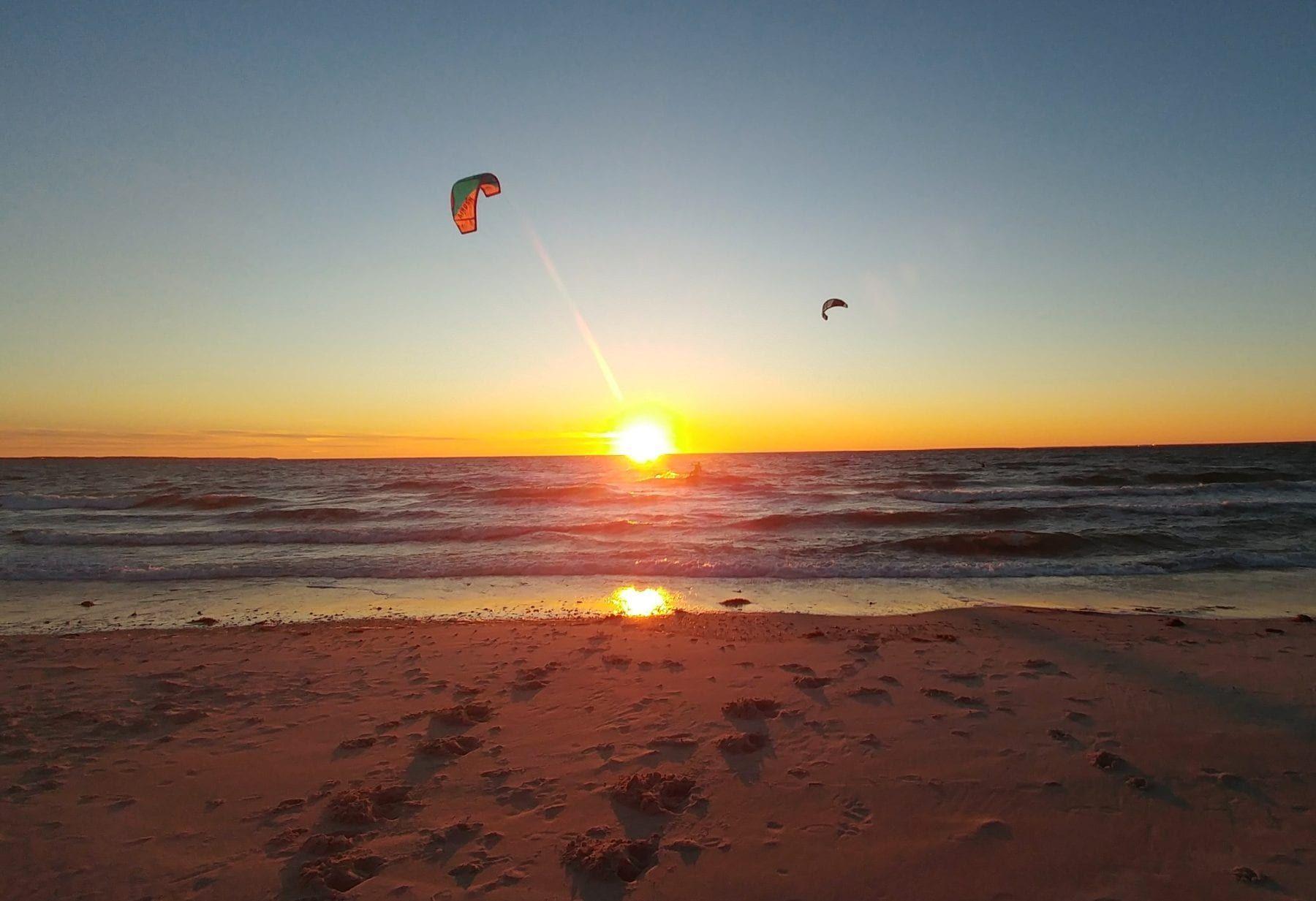 Kite Surfing, Falmouth, MA
