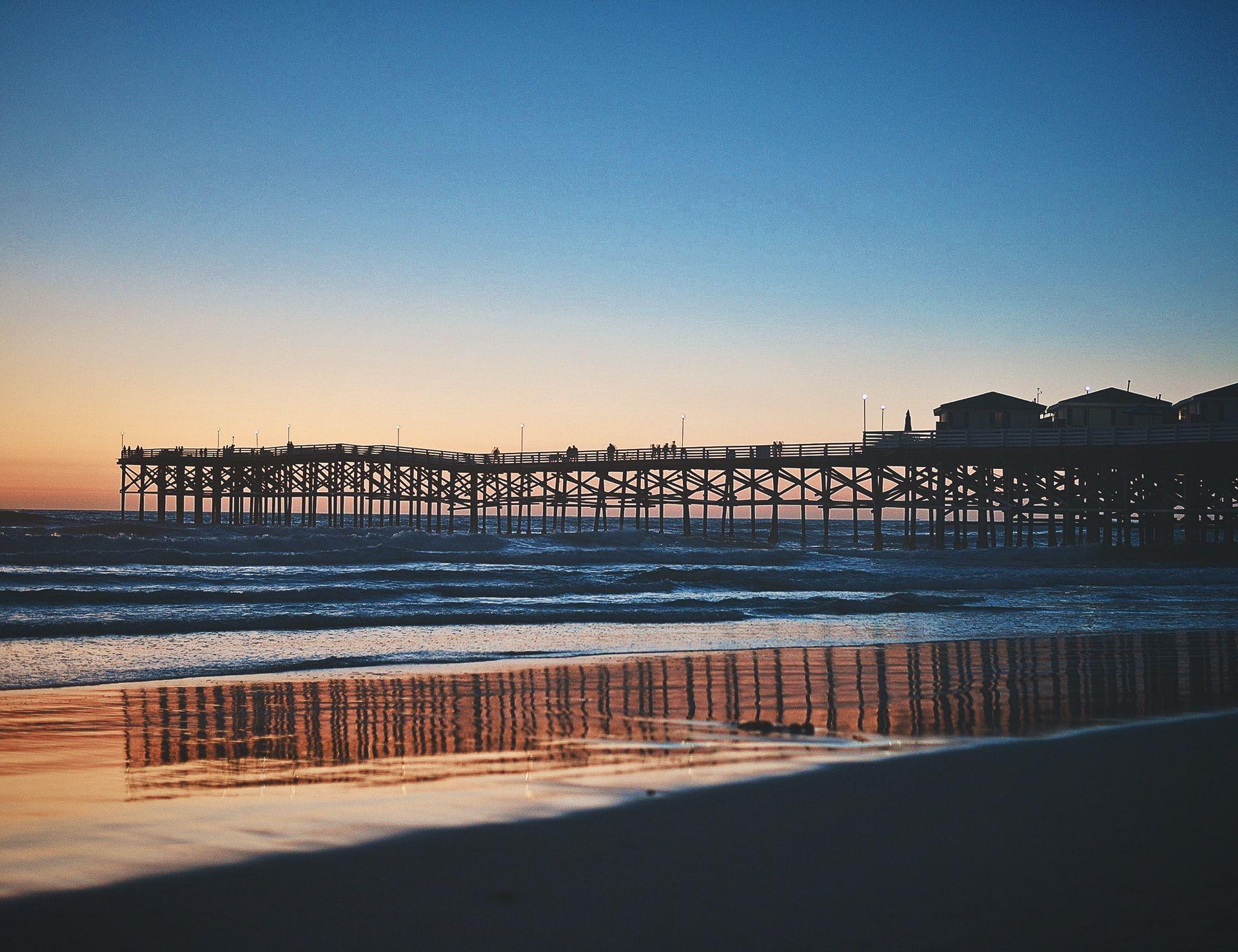 San Diego Pier CA