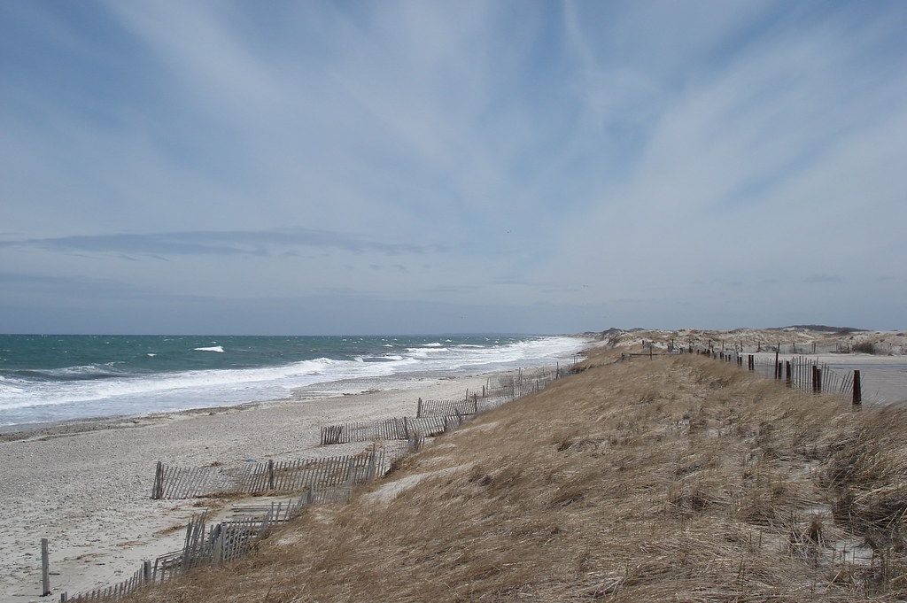 The stretch of Sandy Neck Beach, Barnstable
